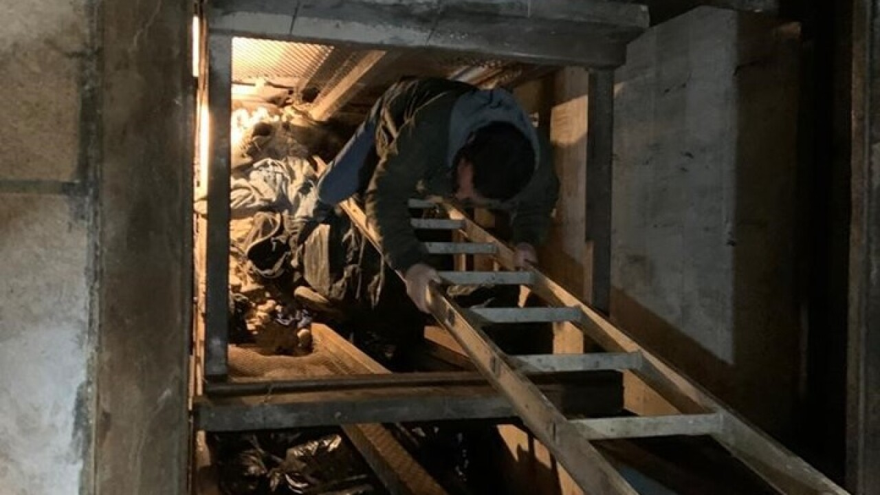 Local authorities discover drug tunnel under U.S.-Mexico border