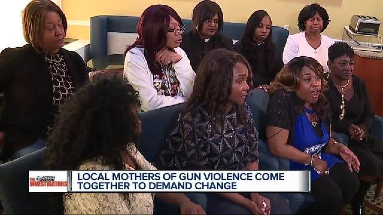 Detroit moms on gun violence: make changes now