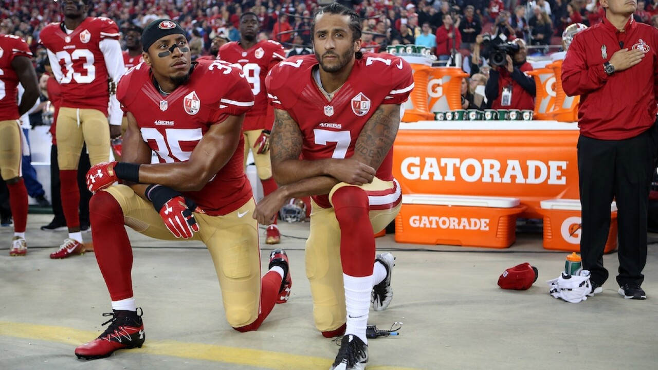 Eric Reid says NFL's embrace of peaceful protest is 'disingenuous PR'