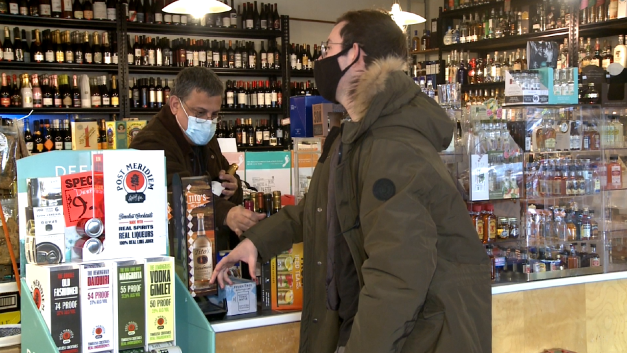 Local liquor stores see spike in sales despite winter storm