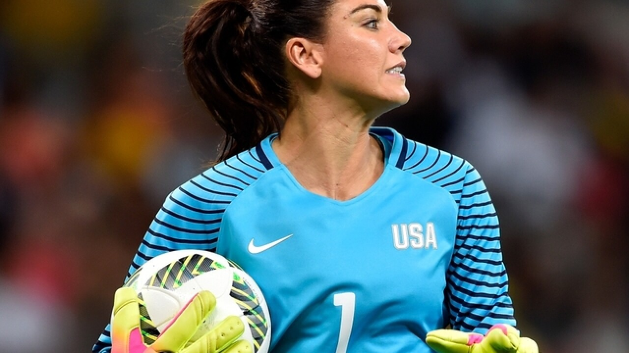 '17 years and it's #&$@ing over': Watch Hope Solo react to her suspension