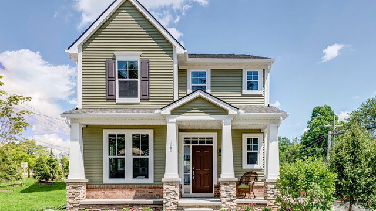 Brand new home hits the market just blocks away from downtown Milford