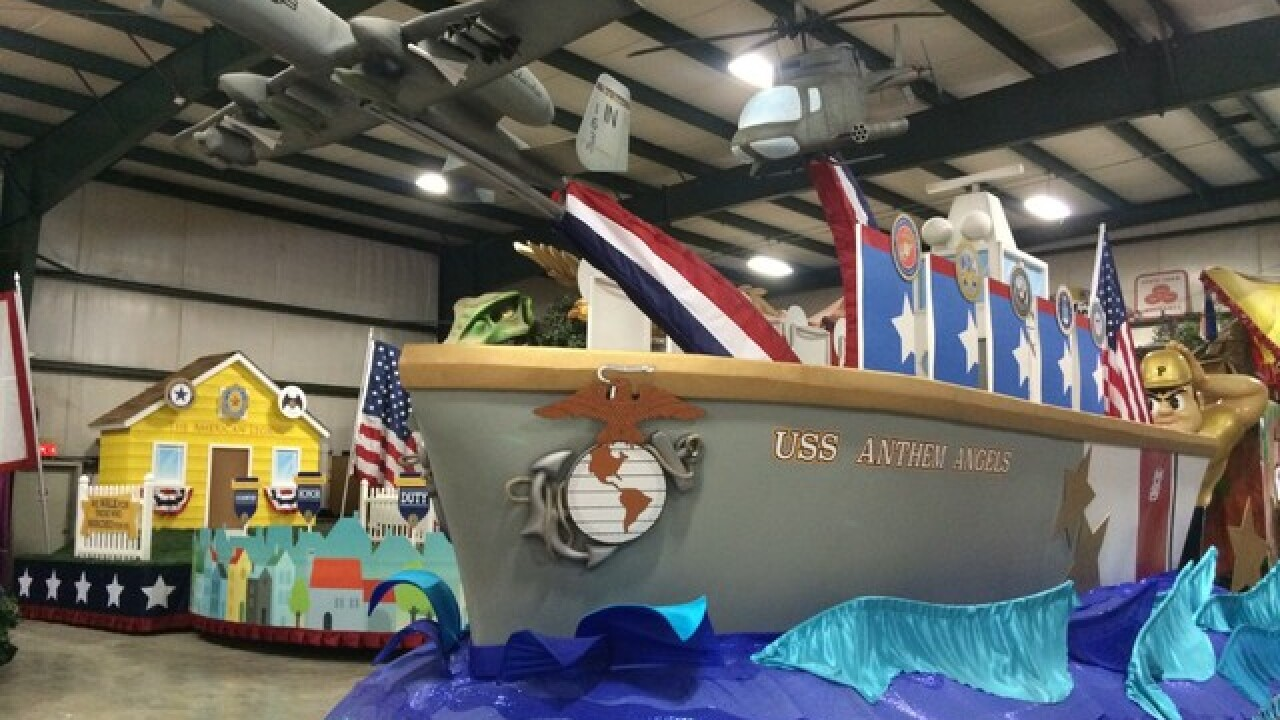 PHOTOS: 100th Indy 500 Parade floats