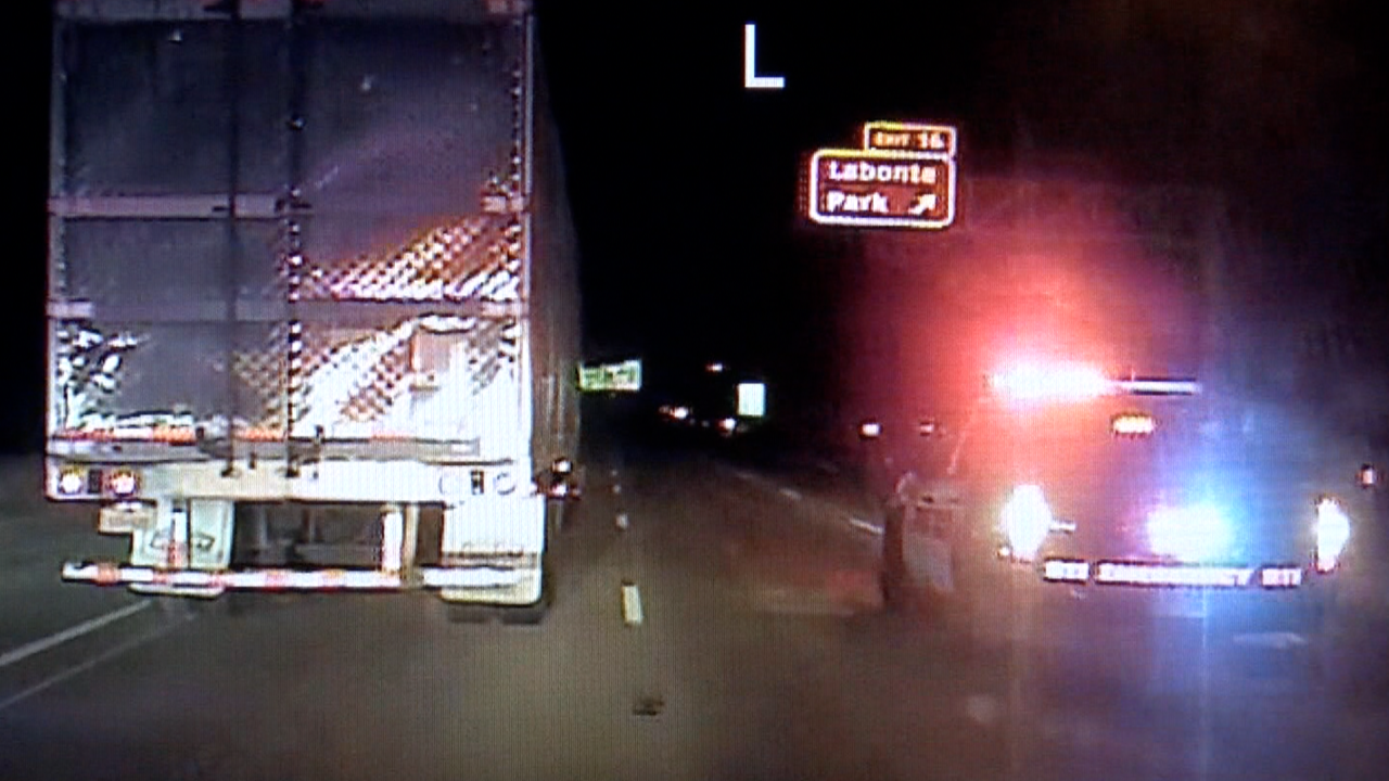 Man arrested for stealing 18-wheeler, leading police on chase