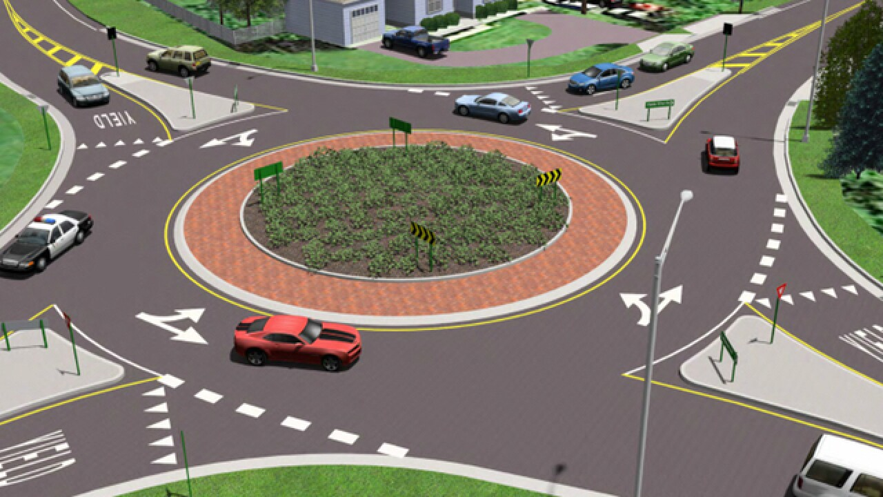 Is this a traffic revolution? Circular intersections known as roundabouts gaining popularity locally