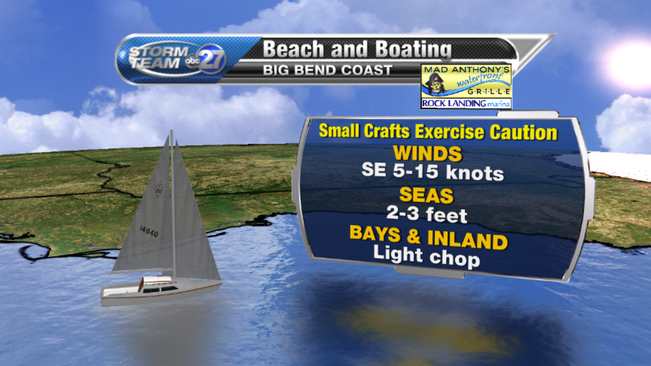 Beach and Boating forecast A (04/11/2017)