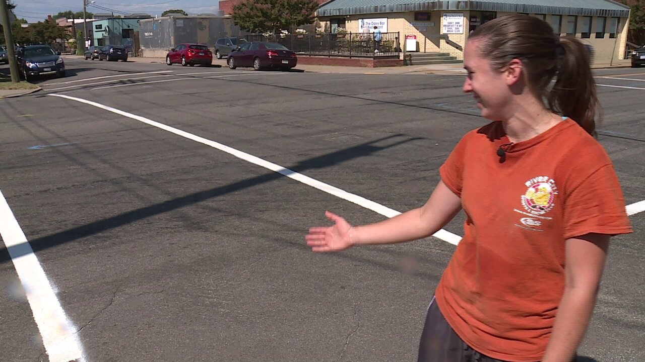 New crosswalks painted in Scott's Addition; crews to begin graffitiblitz