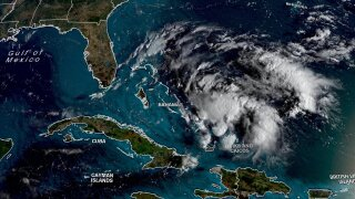 Hurricane warnings issued in Bahamas as a tropical system brews in Caribbean