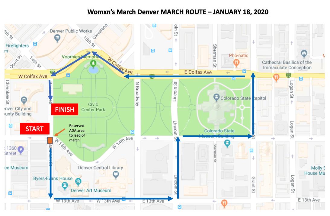 2020 Womxn's March Denver March Route.png