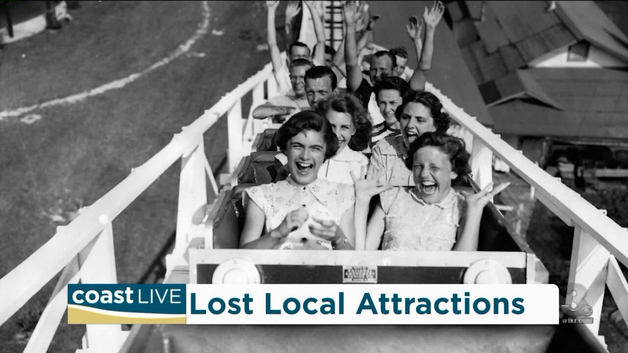 "Looking back at ""Lost Attractions of Hampton Roads"" on Coast Live"