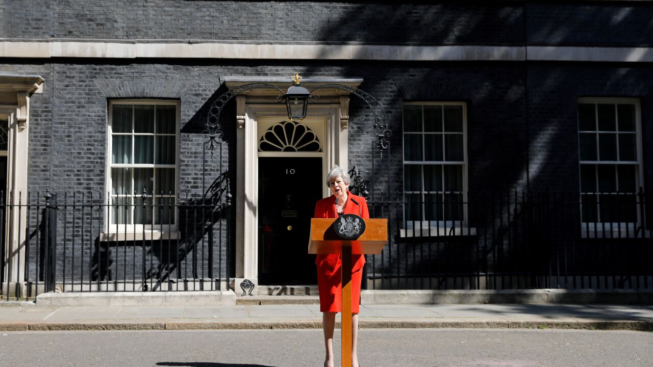 Prime Minister Theresa May announces her resignation amid Brexit fallout