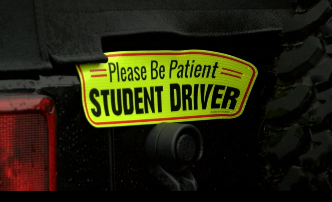 Please be patient student driver.PNG