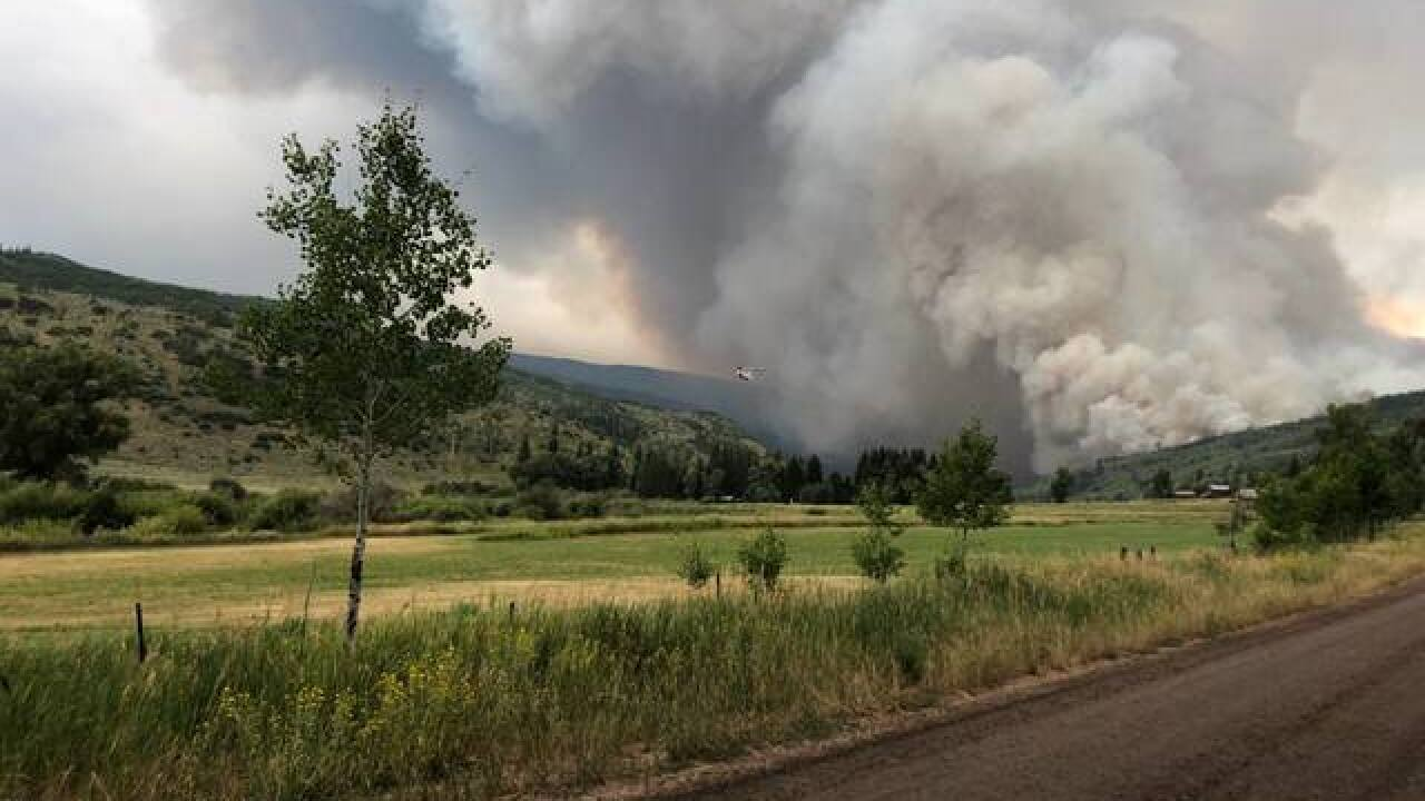Cabin Lake Fire Roars Back To Life Doubling In Size And Prompting