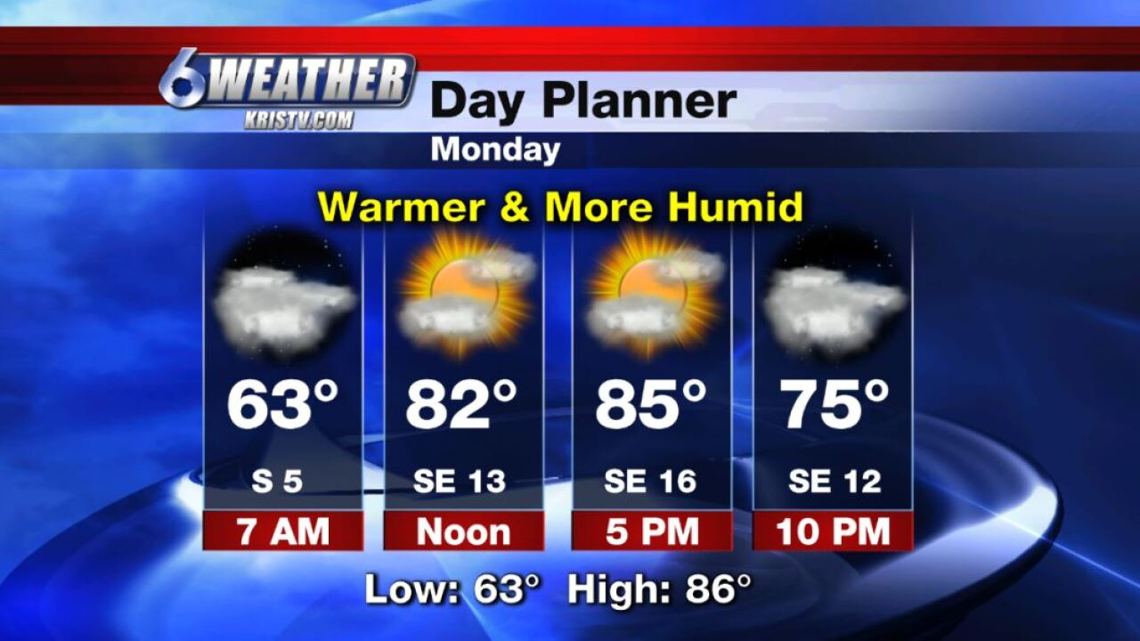 6WEATHER Day Planner for Monday 10-28-19.JPG