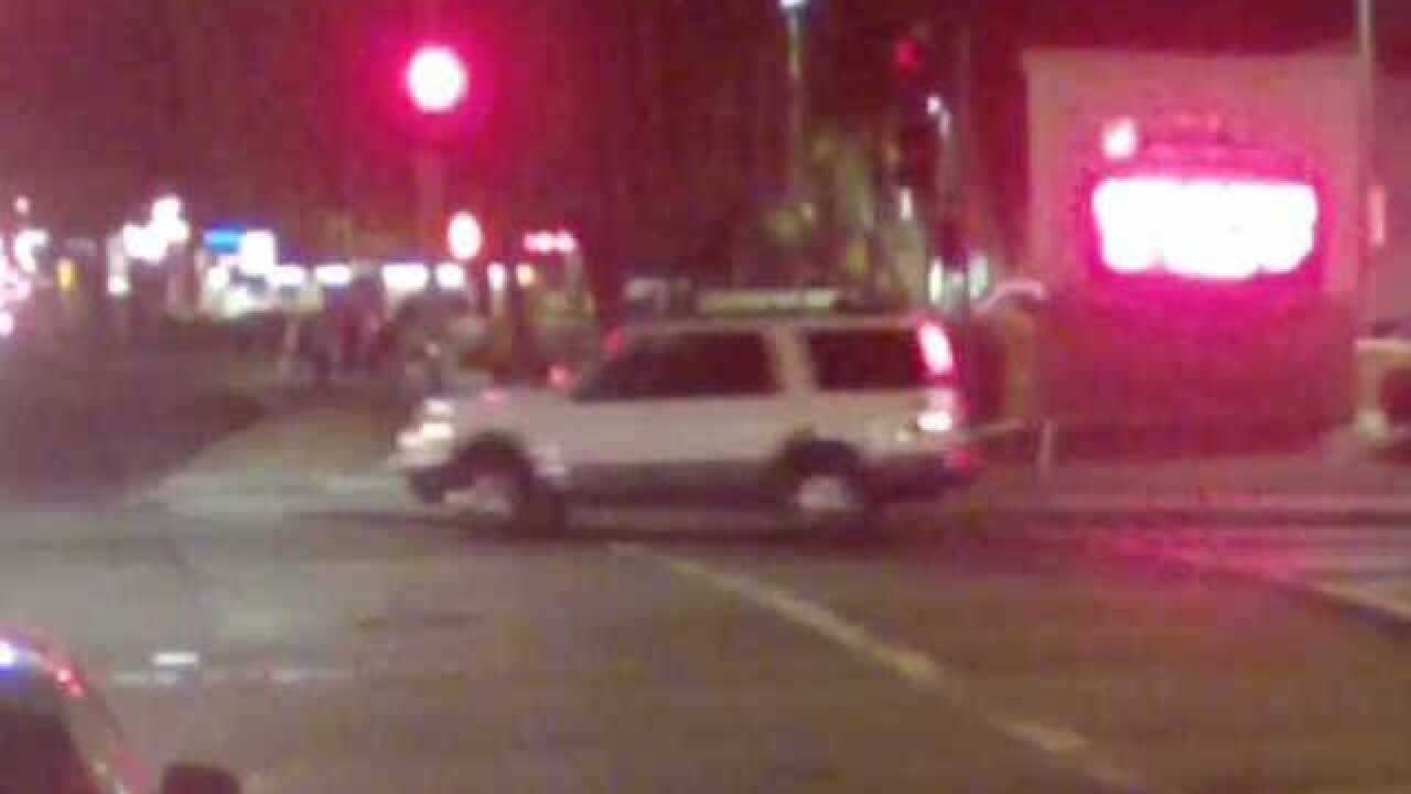 Surveillance video: Deadly crash near GCU