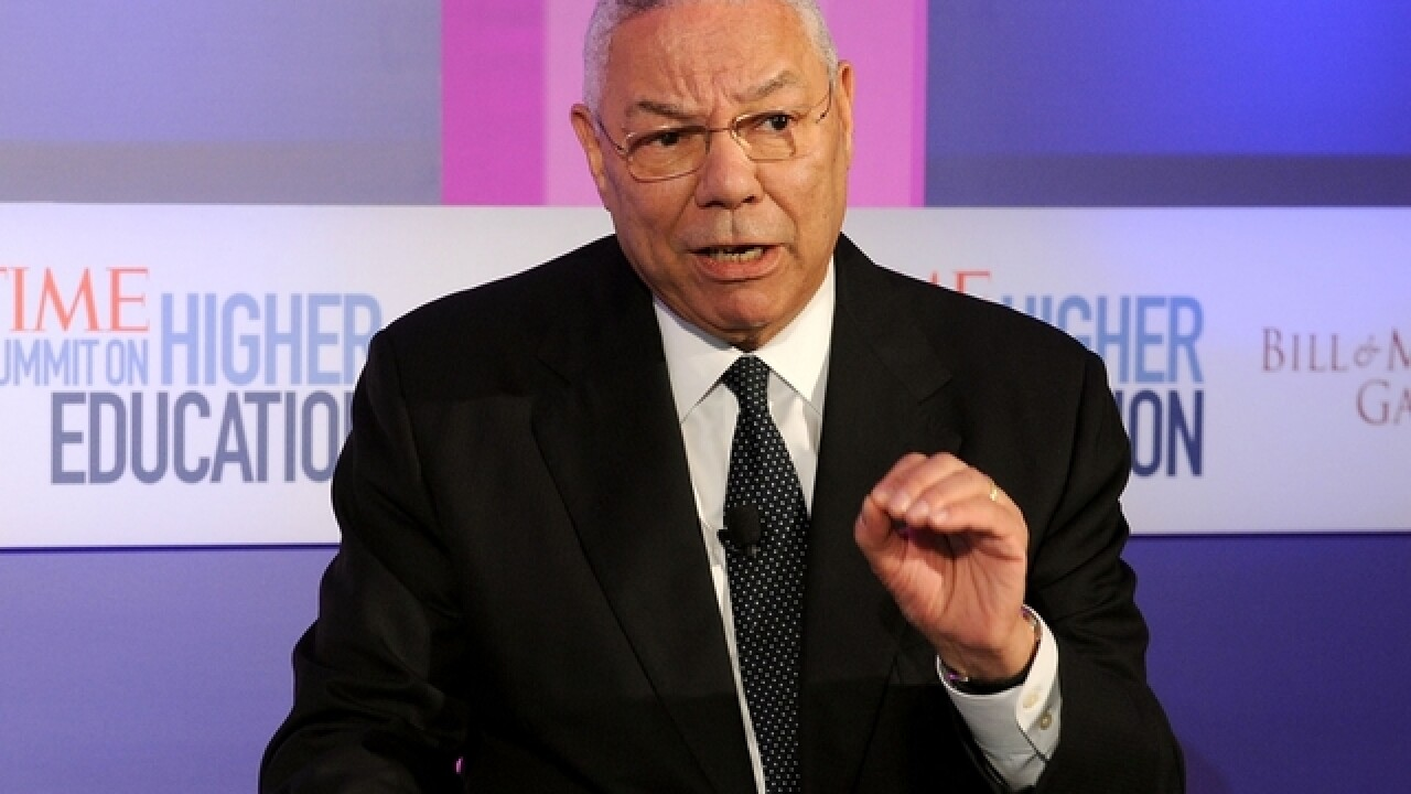Colin Powell in leaked email: Israel has 200 nukes