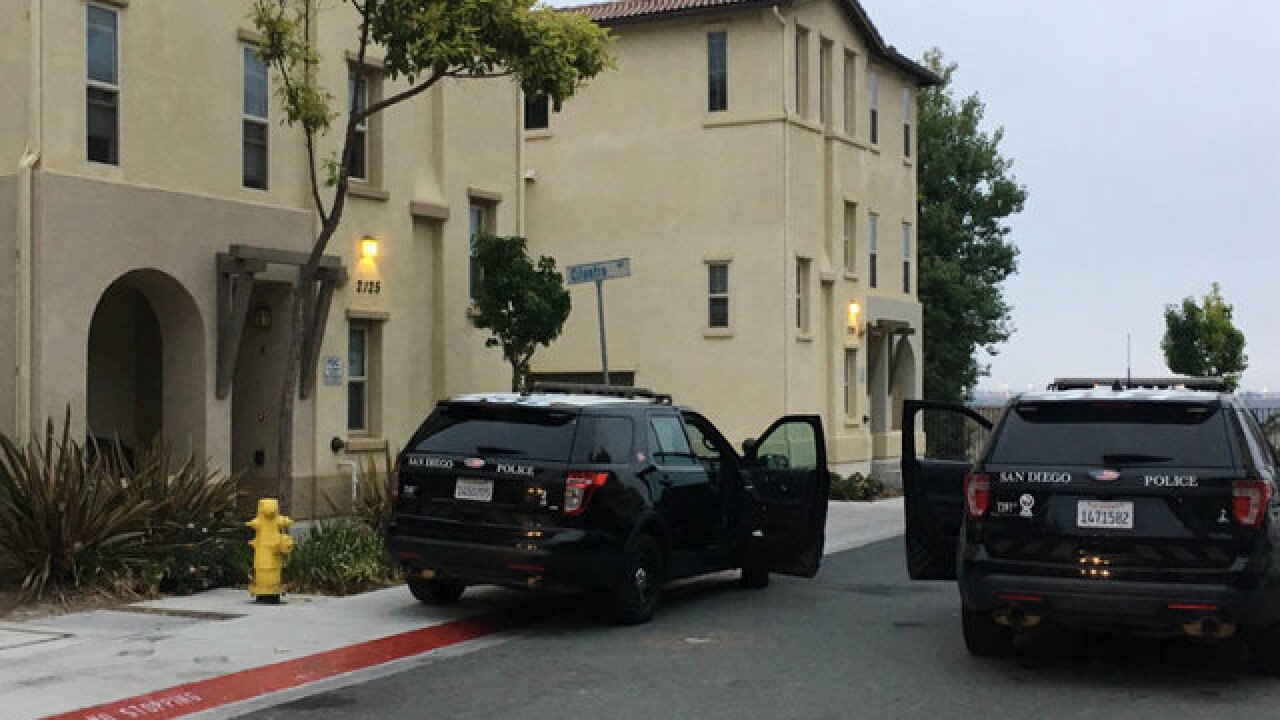 Stabbing suspect holed up in Chula Vista condo