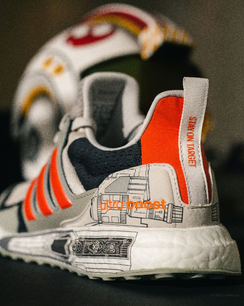 The X-Wing Starfighter inspired Ultraboost S&L from Adidas.