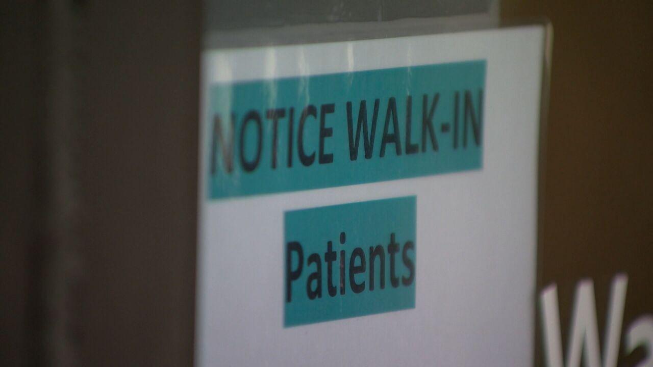 Walk-in patients turned away