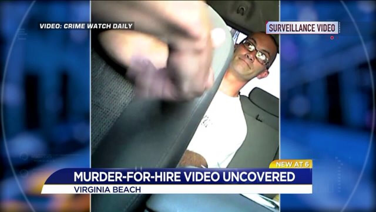 WATCH: Navy Sailor busted in undercover video, tries to hire hit man to killwife