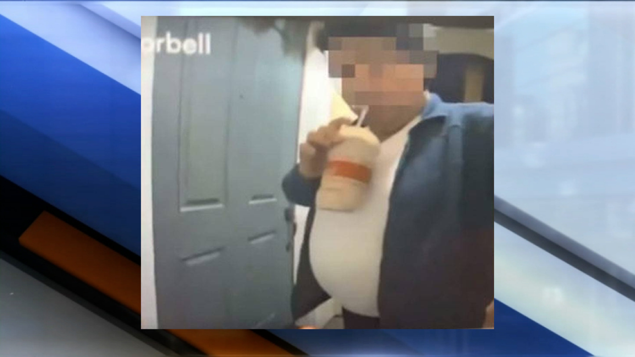 DoorDash driver caught sipping milkshake before delivery