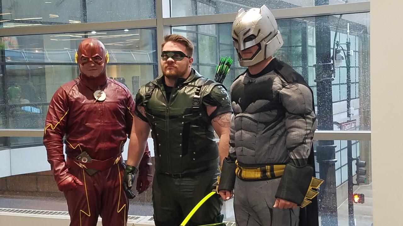 DC Comics cosplayers