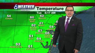 Juan Acuña's weather for Jan. 26, 2021