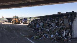 Semi crash on I-25 ramp June 4
