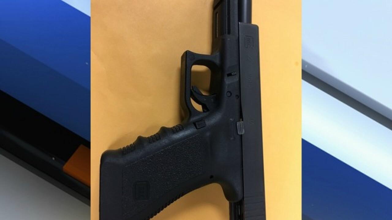 Parent arrested for having gun on school grounds