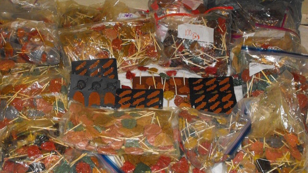 Texas police seize 600 pounds of meth-laced lollipops