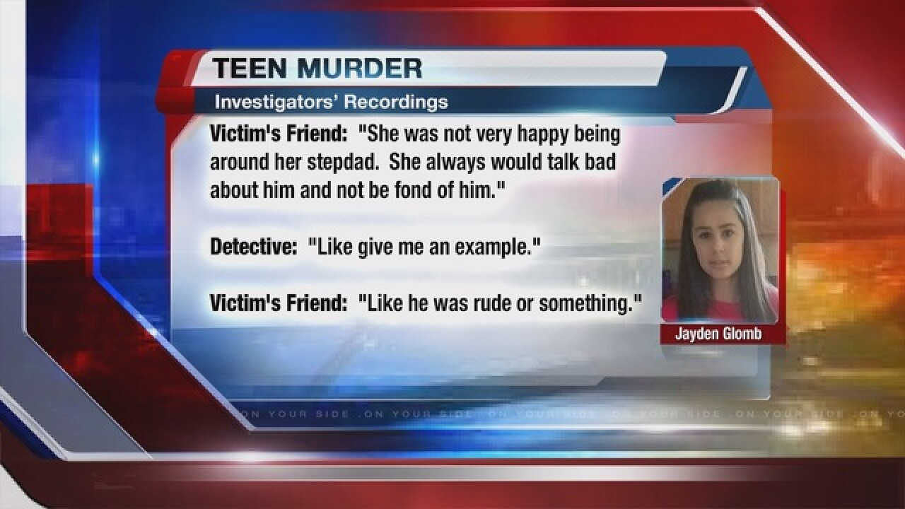 Police release recordings from teen murder case