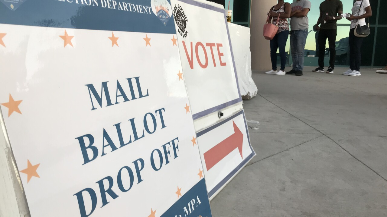 Primary Election day in Nevada on June 9, 2020