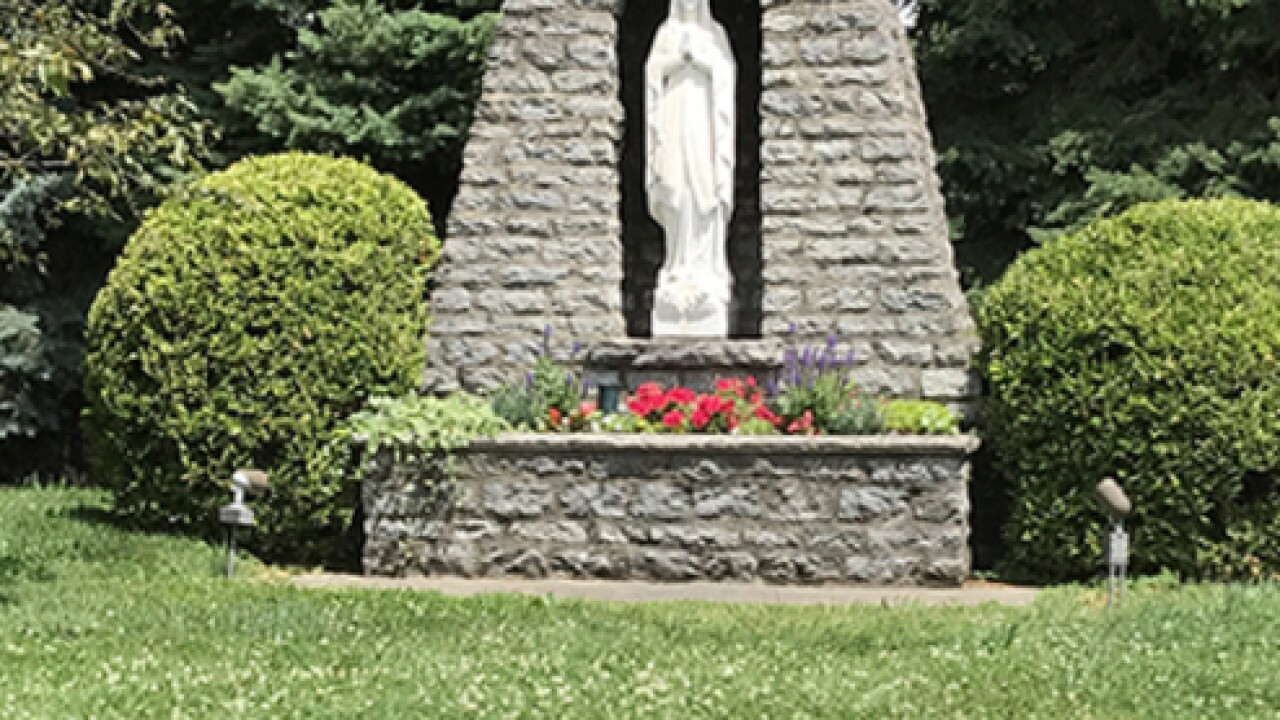Why a church's grotto may be a no-go