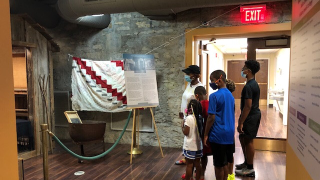 Family visits Black Archives of Mid-America