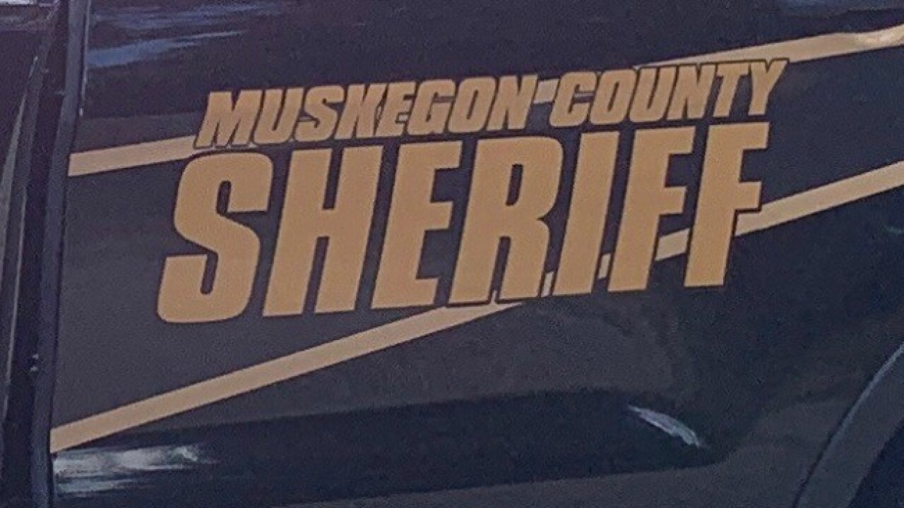 2 people hospitalized in crash with semi in Muskegon Co.