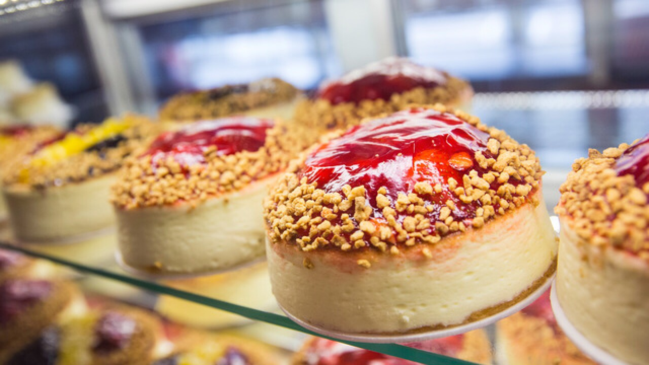 Get great deals on National Cheesecake Day, including half off slices at Cheesecake Factory