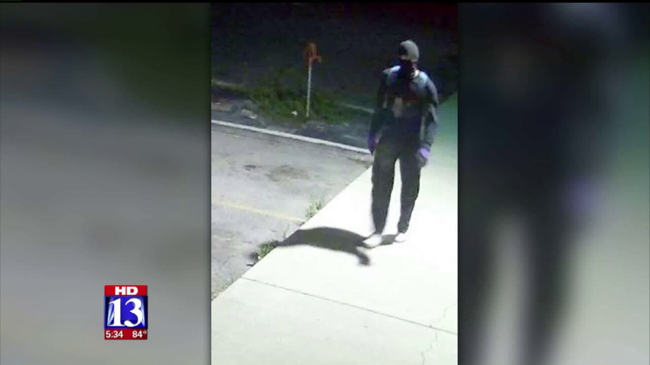 Spanish Fork Police seek help identifying suspect in burglaryspree