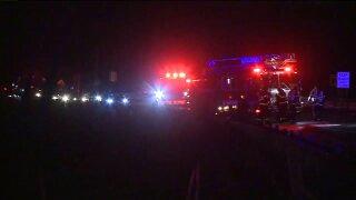 WB I-196 crash at Lake Mi Drive