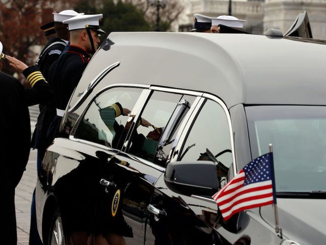 Photos: State funeral for George H.W. Bush