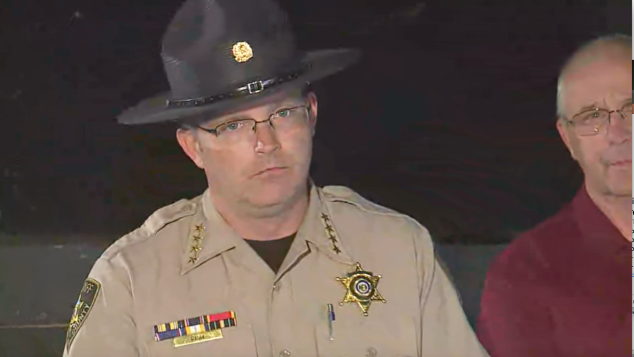 Clinton County sheriff death investigation Larry Fish.png
