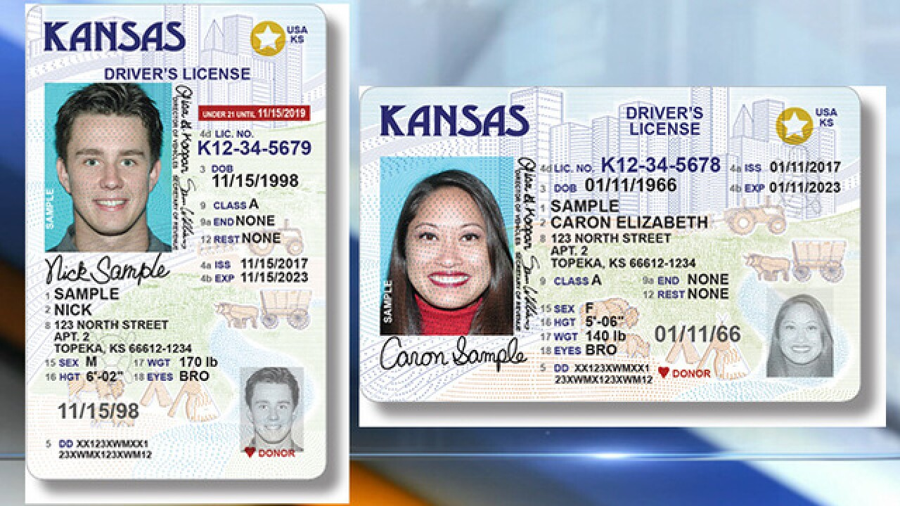 Kansas Unveils New Id Design To Be Real Id Compliant