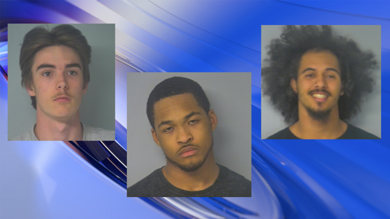 Alert neighbor helps police arrest four accused of attempted armed robbery inWilliamsburg
