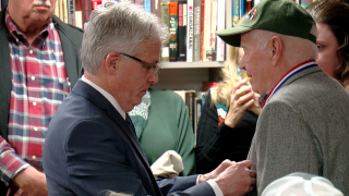 WWII veteran Jim Tygart honored with French Legion of Honor