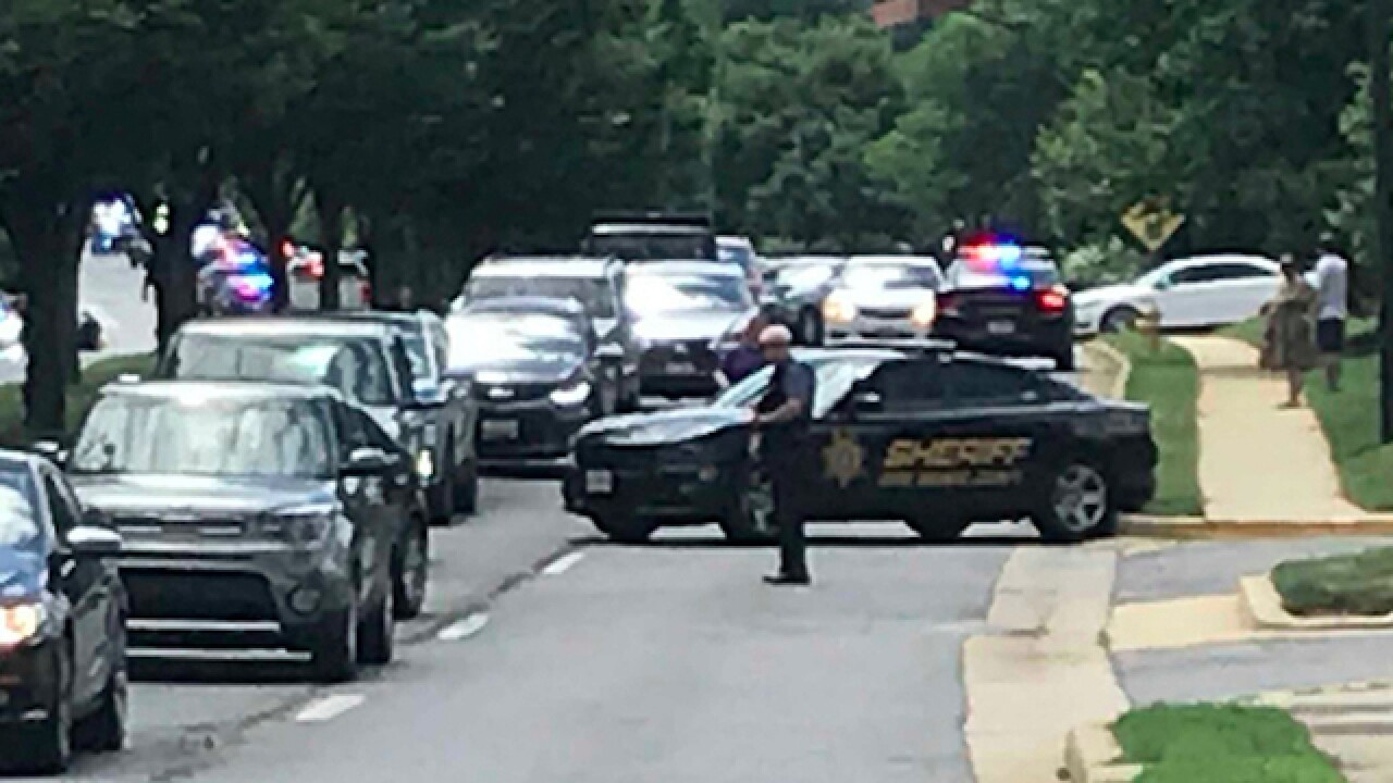 Gunfire reported in Annapolis, Maryland building