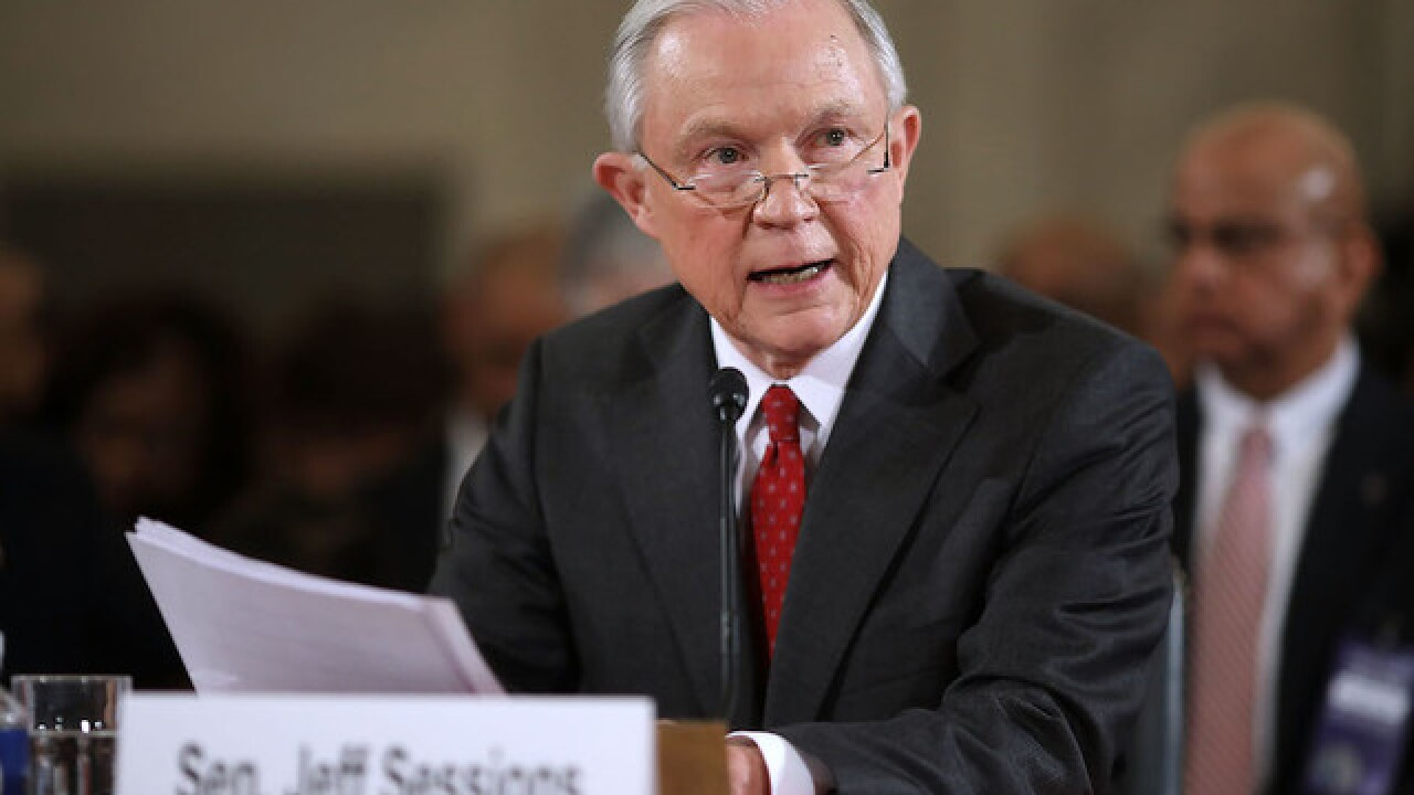 Confirmation hearing for Trump AG pick Sen. Jeff Sessions underway