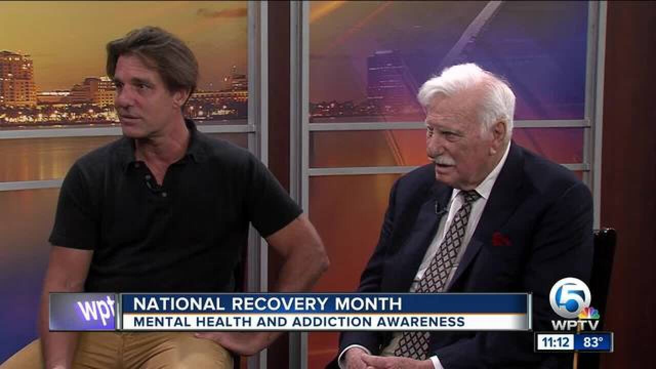 Schnellenberger family speak about National Recovery Month
