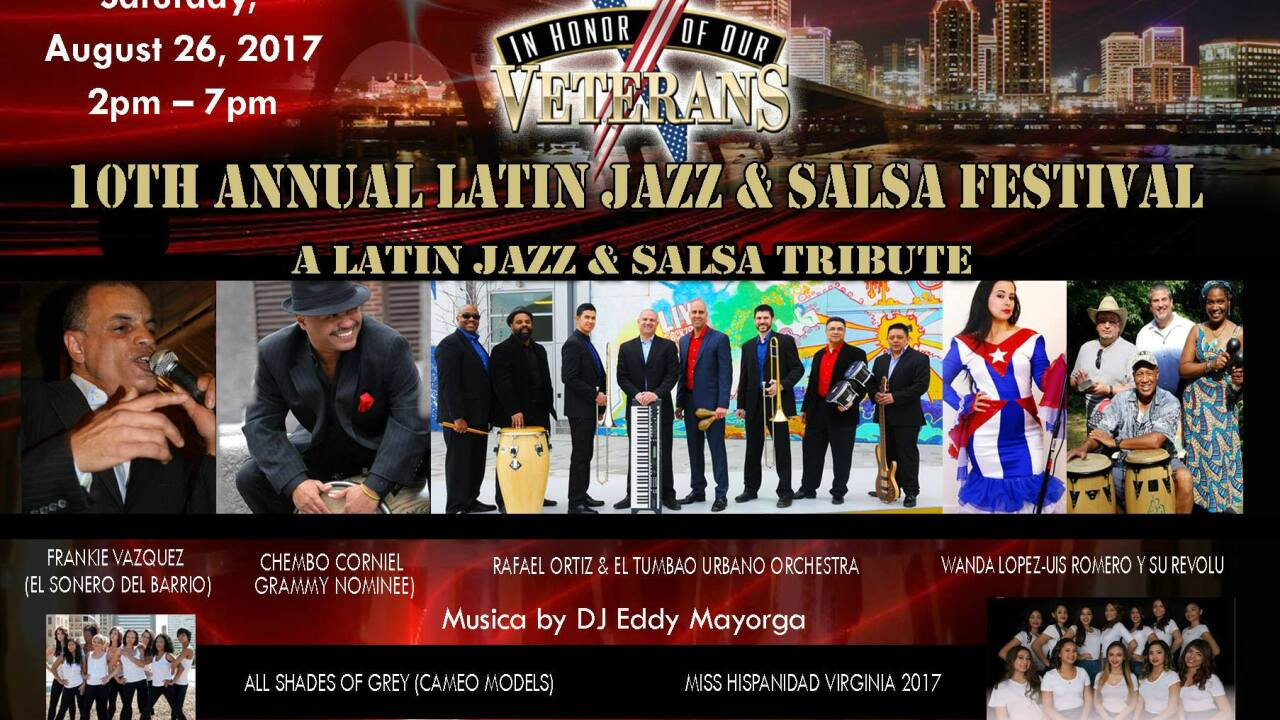 10th Annual Latin Jazz and Salsa Festival