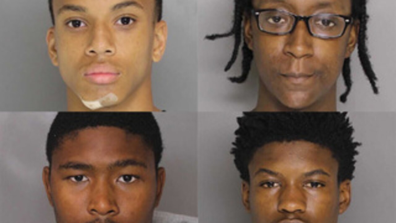 Teens indicted on 19 counts in Baltimore officer's death