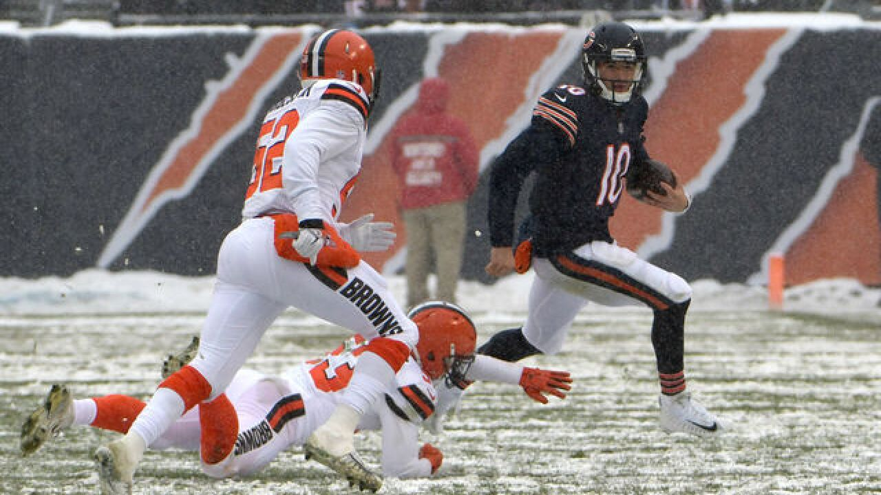 Browns move to brink of winless season, lose 20-3 to Bears