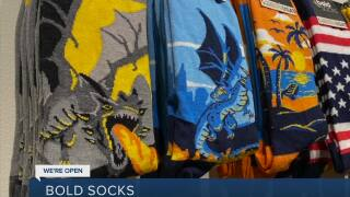 We're Open: Bold Socks supporting clean water
